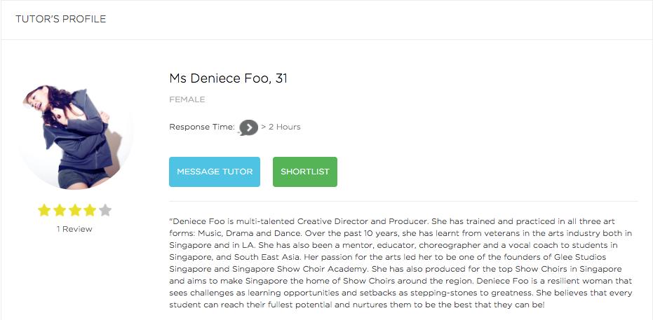 Melvin Tseng Tueetor Profile