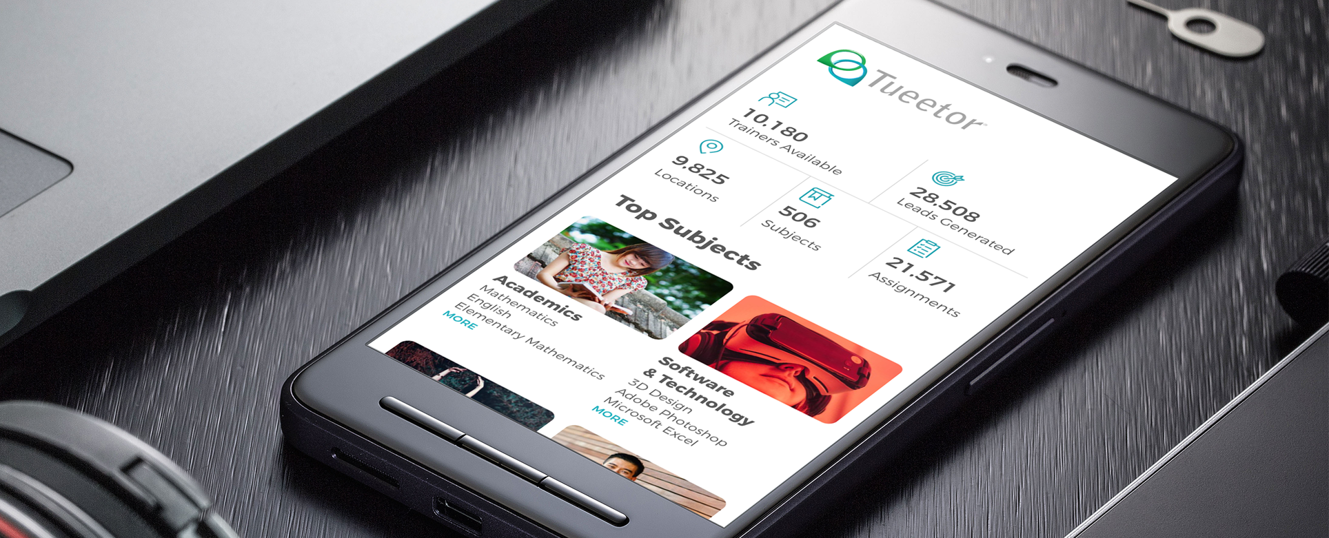Tueetor in Mobile application